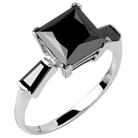Кольцо из серебра с нано шпинелью Арт.1093н-шп