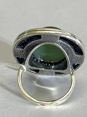 Капор (кольцо из серебра)