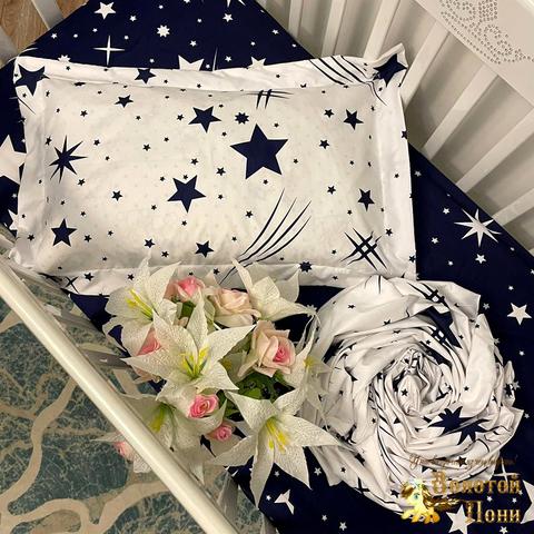 Комплект постельного белья в детскую кроватку (0+) 210414-Ф41154