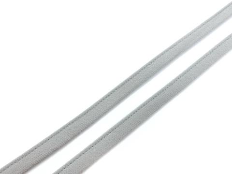 Ворсовая тесьма под каркасы серая (цв. 166) 50 метров