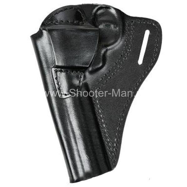 Кобура кожаная для револьвера Гроза Р-06 ( модель № 5 ) Стич Профи