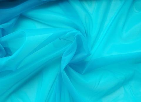 Корсетная сетка, карибское море (яркая бирюза), средней жесткости
