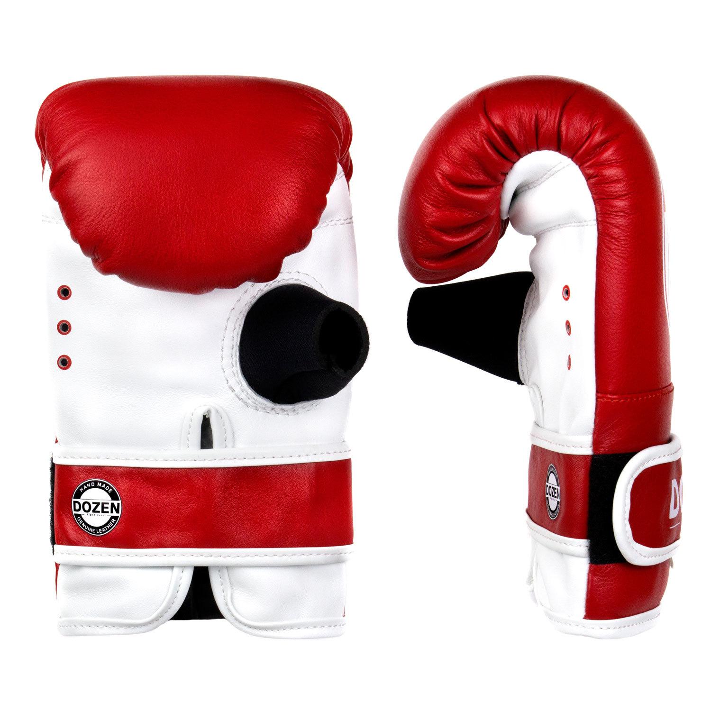 Снарядные перчатки Dozen Soft Pro Red ладонь