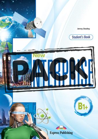 NEW ENTERPRISE B1+ STUDENT'S BOOK WITH DIGIBOOK APP - Учебник с электронным приложением