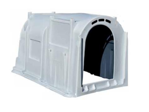 Индивидуальный домик для телят XXL - большого размера, 210х135х130 см, 2-х слойный