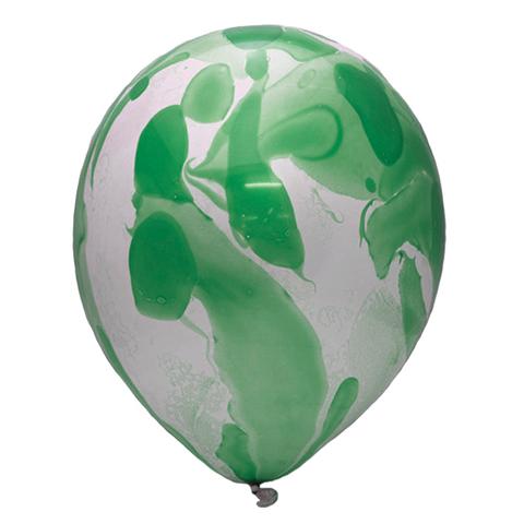 Шар Зелёный многоцветный