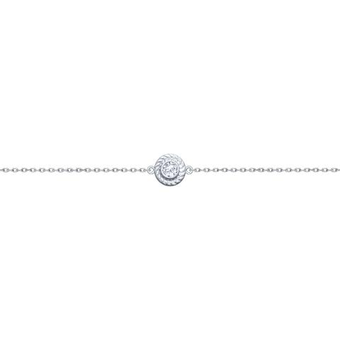 94050424 - Браслет с бегунком из серебра в стиле Tiffany