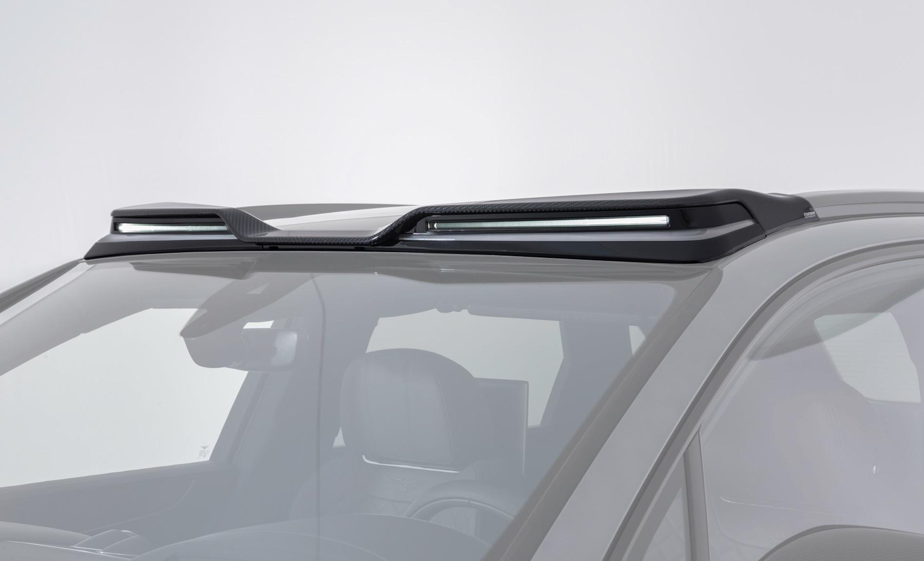 Карбоновый элемент на крышу с диодами Startech Style для Bentley Bentayga
