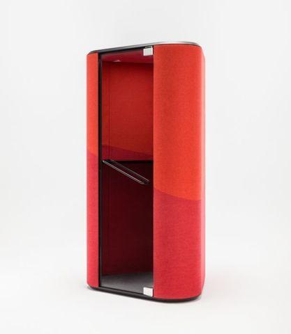 Красная телефонная будка HANA
