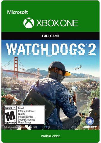 Watch Dogs 2 (Xbox One/Series S/X, цифровой ключ, русская версия)