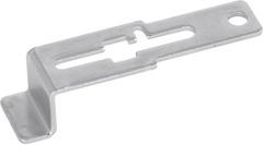 Сдвижная ручка для дверец верстаков без личинки замка