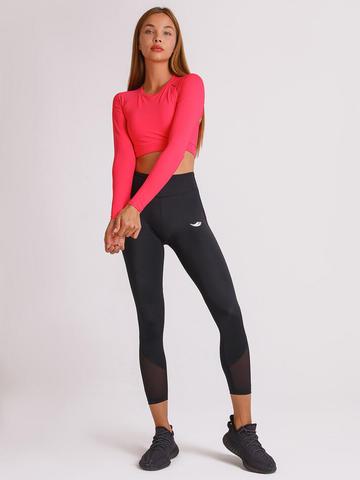 Леггинсы укороченные жен. для йоги и фитнеса Strong