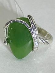 Бутон (кольцо из серебра )