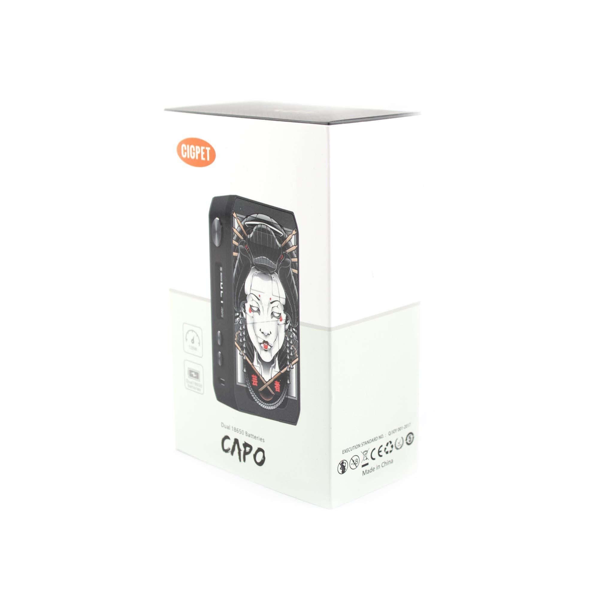 Фирменная коробка для iJOY CIGPET CAPO 126W