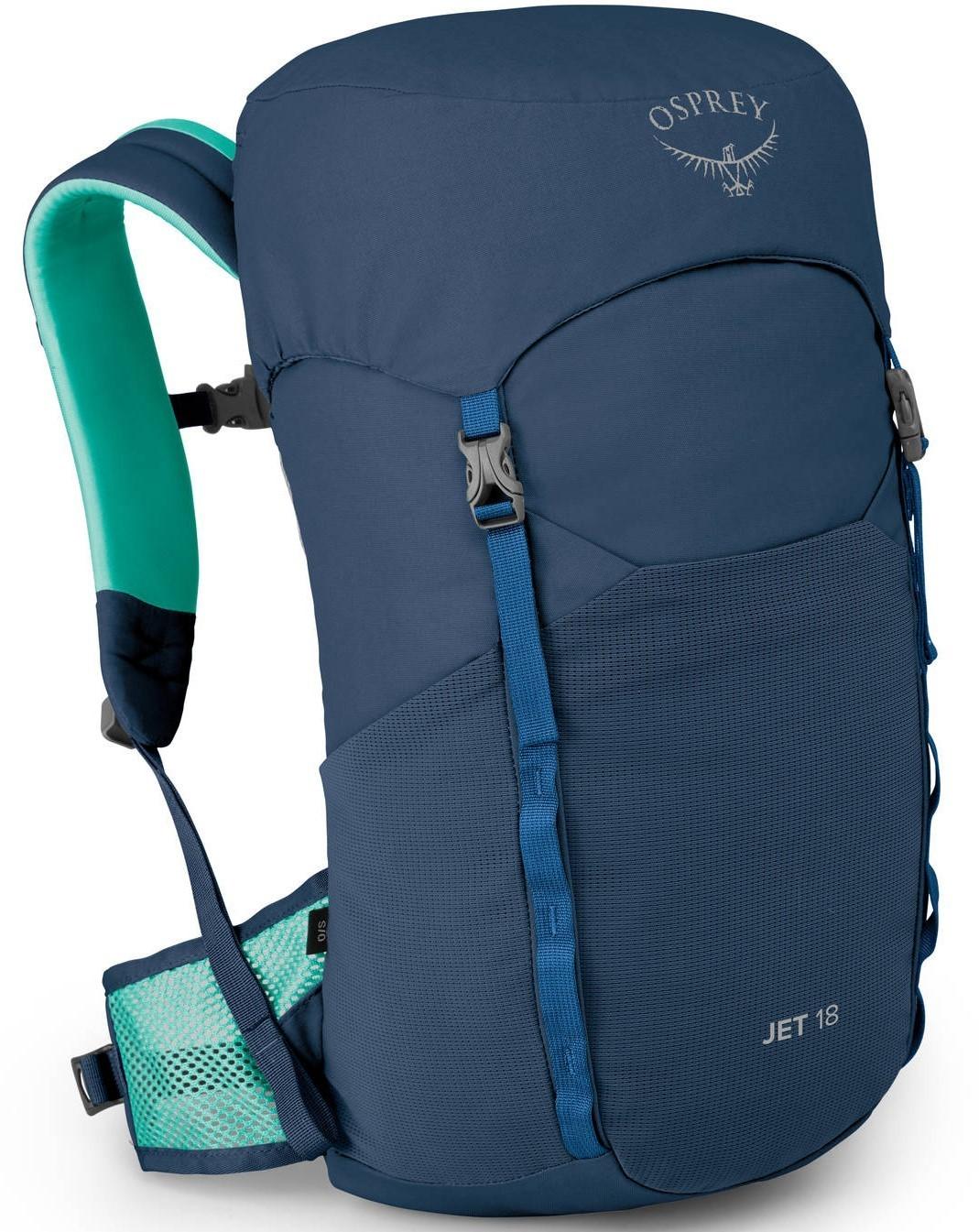 Туристические рюкзаки Рюкзак детский туристический Osprey Jet 18 Wave Blue Jet_18_S20_Side_Wave_Blue_web.jpg