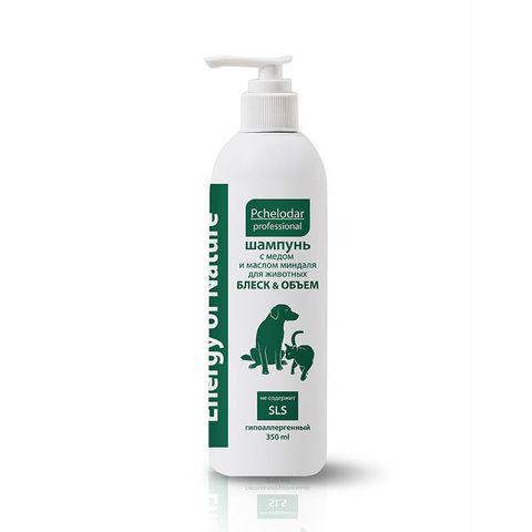 купить Пчелодар Energy of Nature шампунь укрепляющий с пергой и кератином для собак и кошек