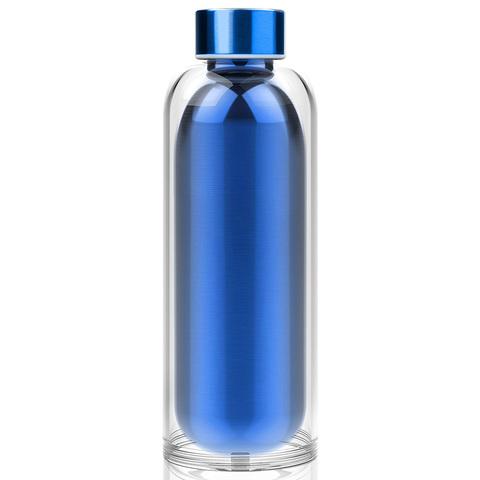 Бутылка Asobu Escape (0,5 литра), голубая