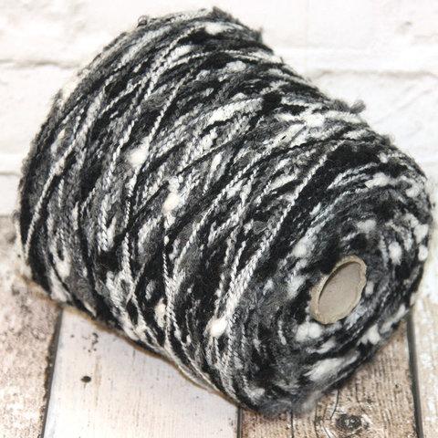 Полушерсть с шишечками COFIL / CIRCE 300 серо-бело-черный