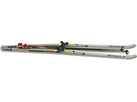 Лыжный комплект STС (лыжи, палки, крепление 75 мм): 195