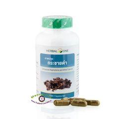 Кра Чай Дам, Черный Галангал (Kaempferia Parviflora, Kra Chai Dam) для лечения простатита и повышения потенции, Herbal one