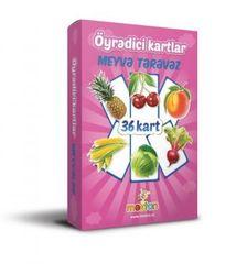 Öyrədici kart (meyvə- tərəvəz)