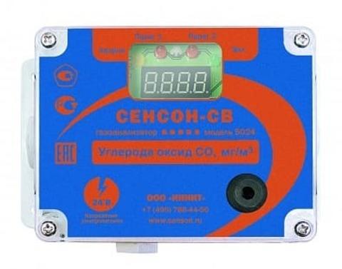 Сенсон-СВ-5024-СО-2-ЭХ - газоанализатор стационарный