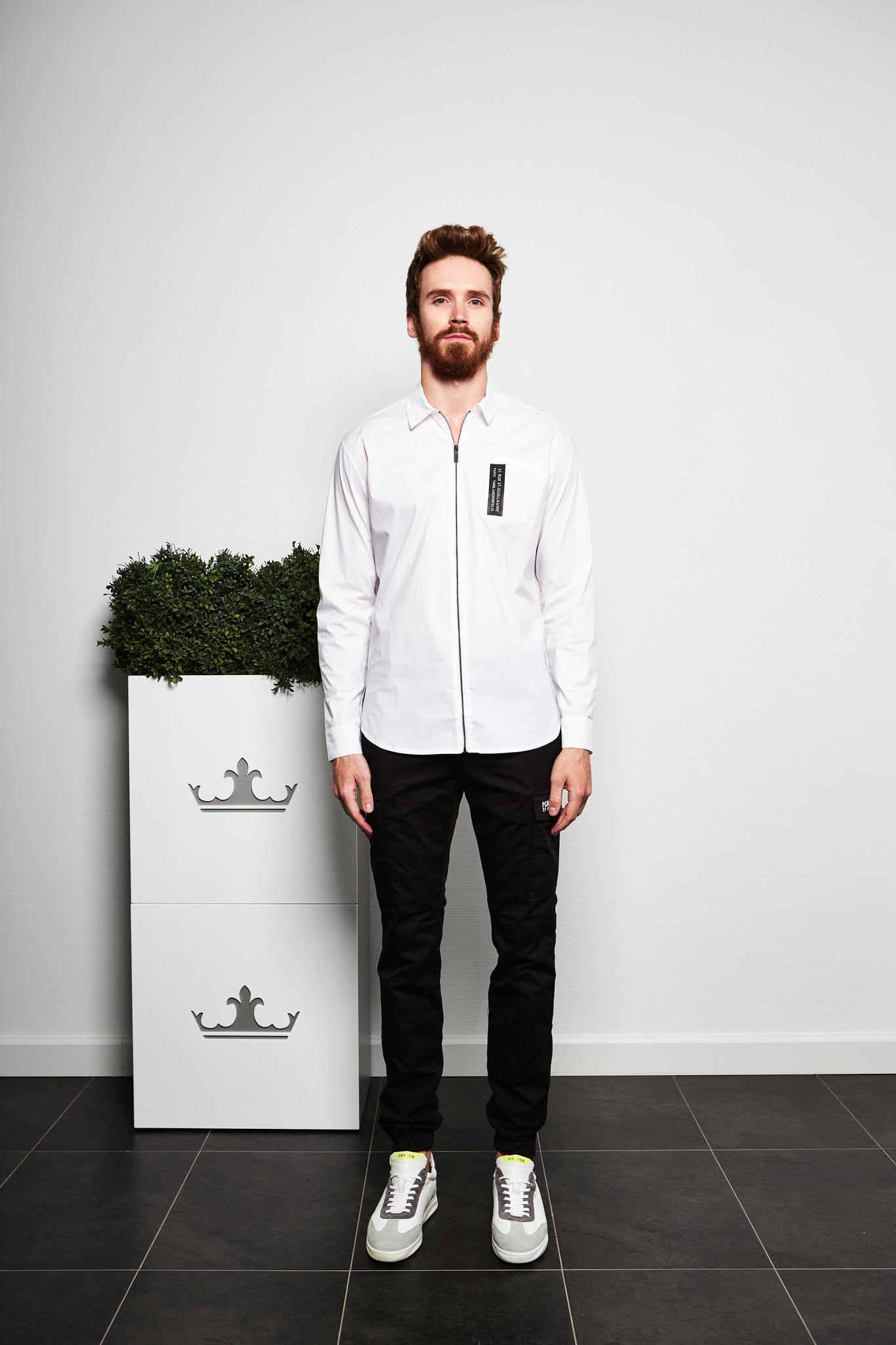 KARL Lagerfeld Рубашка с лого
