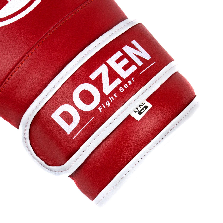 Снарядные перчатки Dozen Soft Pro Red лого