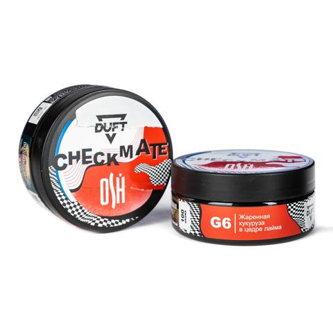 Табак Duft 100 г CheckMate G6 (Жаренная Кукуруза в Цедре Лайма )