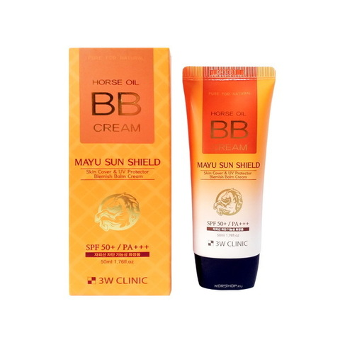 3W Clinic Horse Oil BB Cream