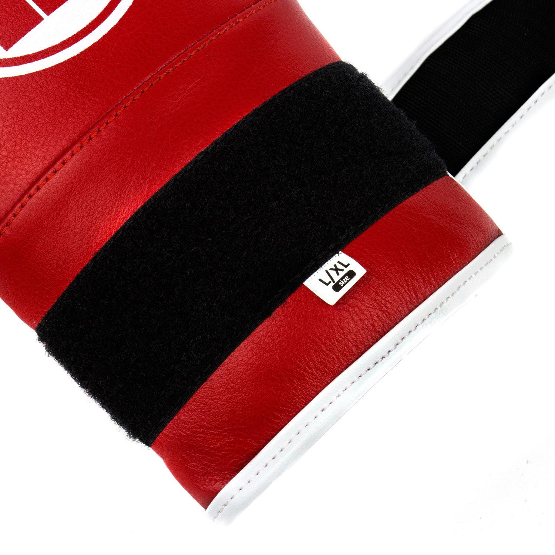 Снарядные перчатки Dozen Soft Pro Red комплект липучек