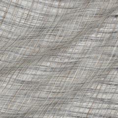 Лён-мережка из синих молочных и бежевых нитей