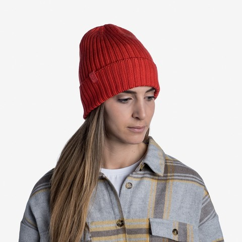 Вязаная шапка Buff Hat Knitted Norval Fire фото 2