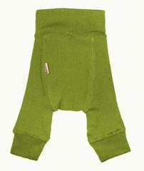 Шерстяные штанишки Babyidea. Зелёный