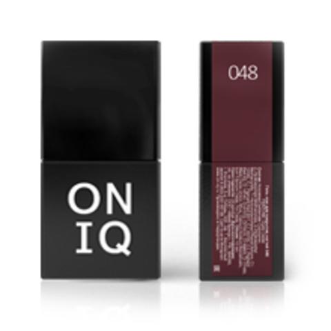 Гель-лак ONIQ - 048  Dusty cedar, 10 мл