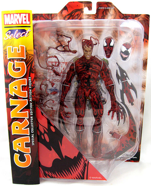 Марвел Селект фигурка Карнаж — Marvel Select Carnage