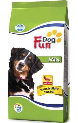 20 кг. FARMINA FUN DOG Сухой корм для взрослых собак Mix