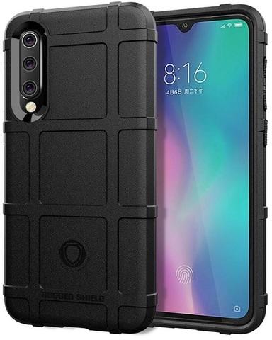 Чехол для Xiaomi Mi 9 SE цвет Black (черный), серия Armor от Caseport