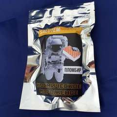 Космическое мороженое 'SALUTEMpremium', упаковка 32г
