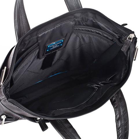 Сумка Piquadro Vibe, черная, 40x28x4,5 см