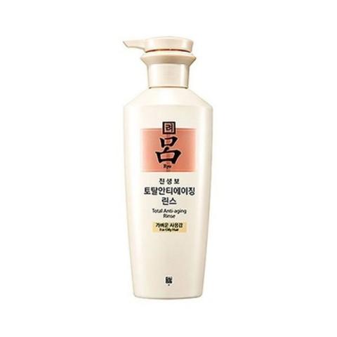 RYOE Jinsenbo Total Anti-Aging Shampoo For Oily Scalp омолаживающий шампунь для жирной кожи головы