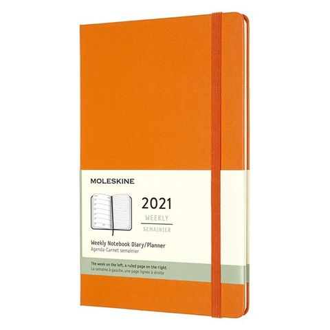 Еженедельник Moleskine Classic WKNT Large 130х210мм 144стр. оранжевый