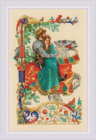 Набор для вышивания крестом «Баллада о любви» (1924)