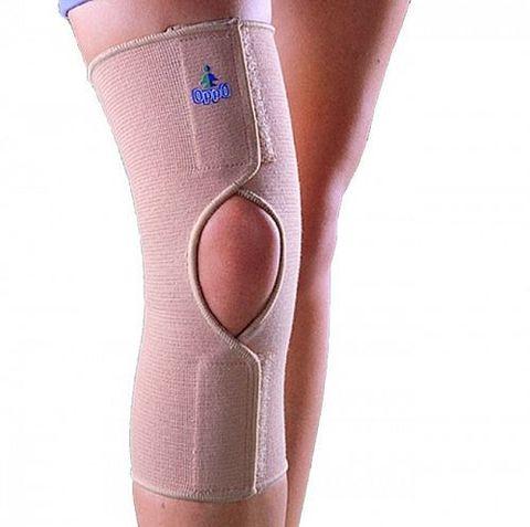 Бандаж на коленный сустав эластичный разъемный OPPO 2029