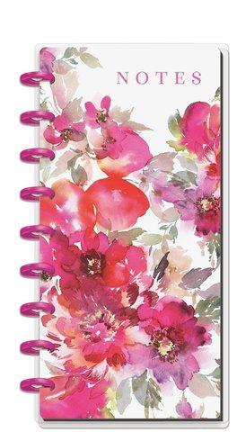Блокнот в пунктирную линию Skinny Classic Happy Notes® - 60л- 14х24 см -Dainty Floral