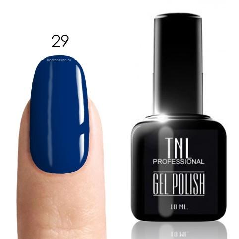 TNL Classic TNL, Гель-лак № 029 - индиго (насыщенный синий)(10 мл) 29.jpg