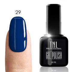 TNL, Гель-лак № 029 - индиго (насыщенный синий)(10 мл)