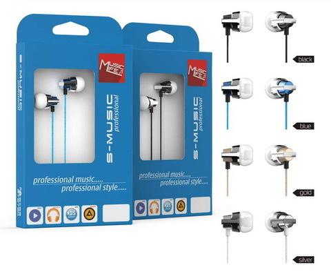Наушники S-Music Professional CX-6500 blue