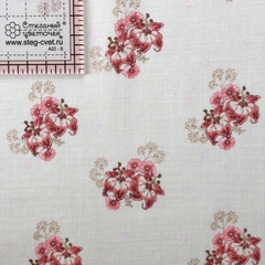 Ткань для пэчворка, хлопок 100% (арт. PR0603)