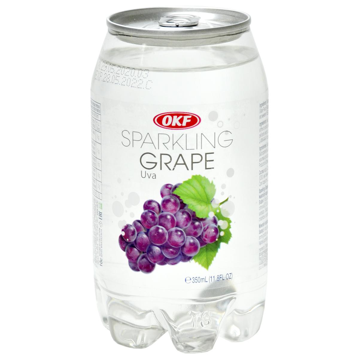 Газированная вода со вкусом винограда